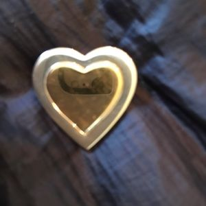 Tiffany & Co Sterling Silver and 18k Gold pin